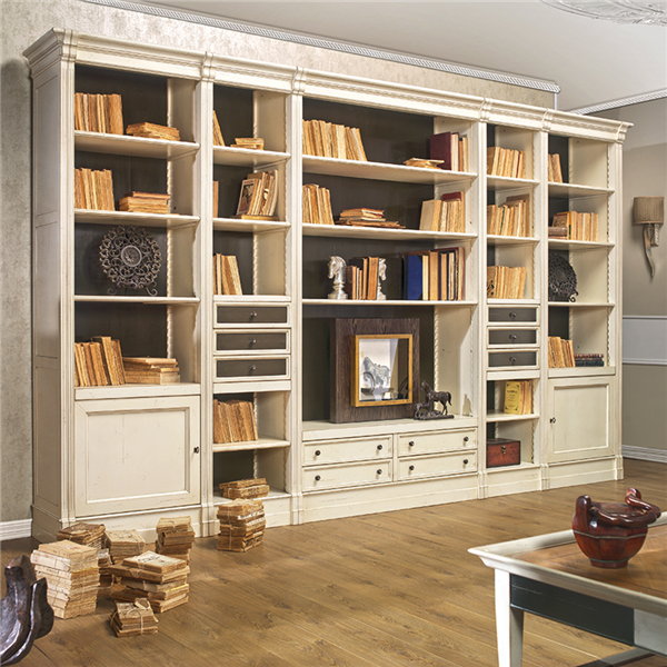 Librer as modulares de sal n a medida en betty co for Muebles librerias modernas