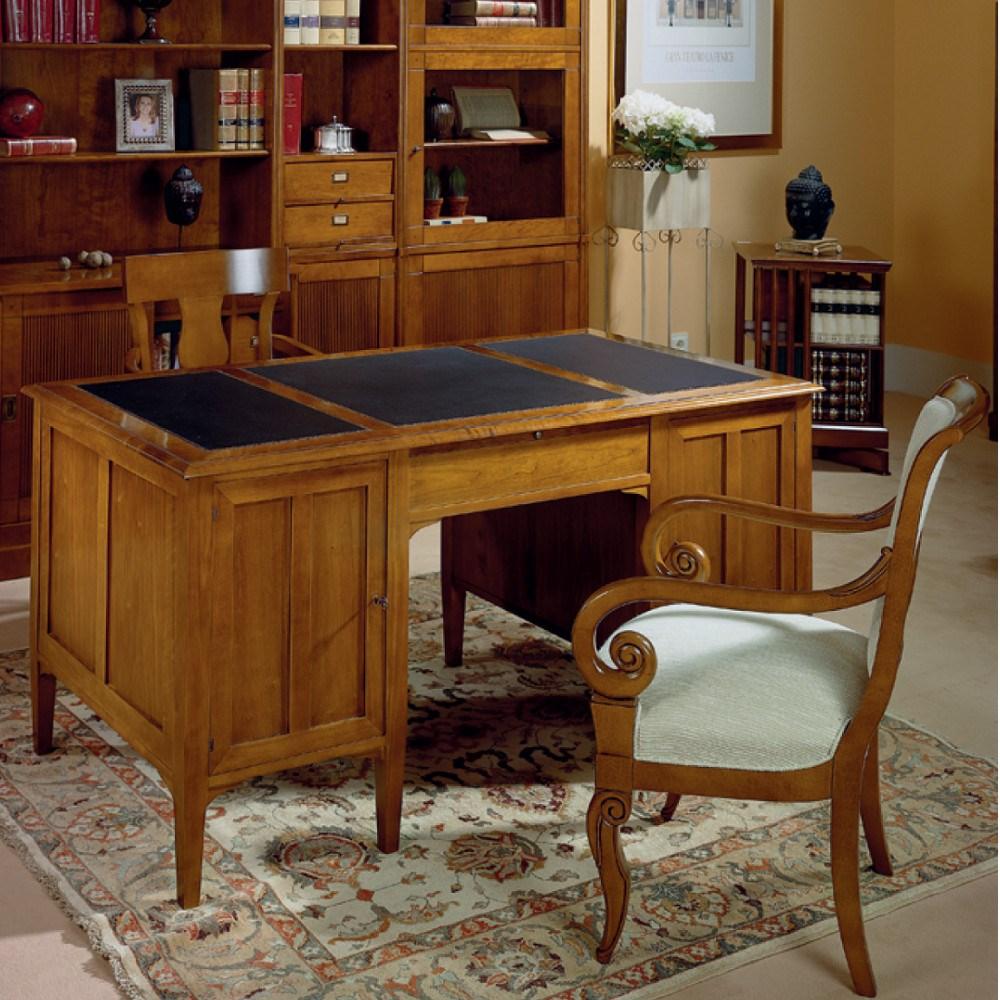 Mesas de despacho clasicas amazing muebles cosas de - Mesa escritorio clasica ...