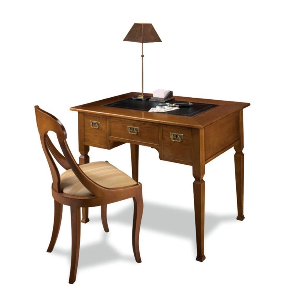 Mesa escritorio cl sica peque a oxford en betty co for Mesas de escritorio antiguas