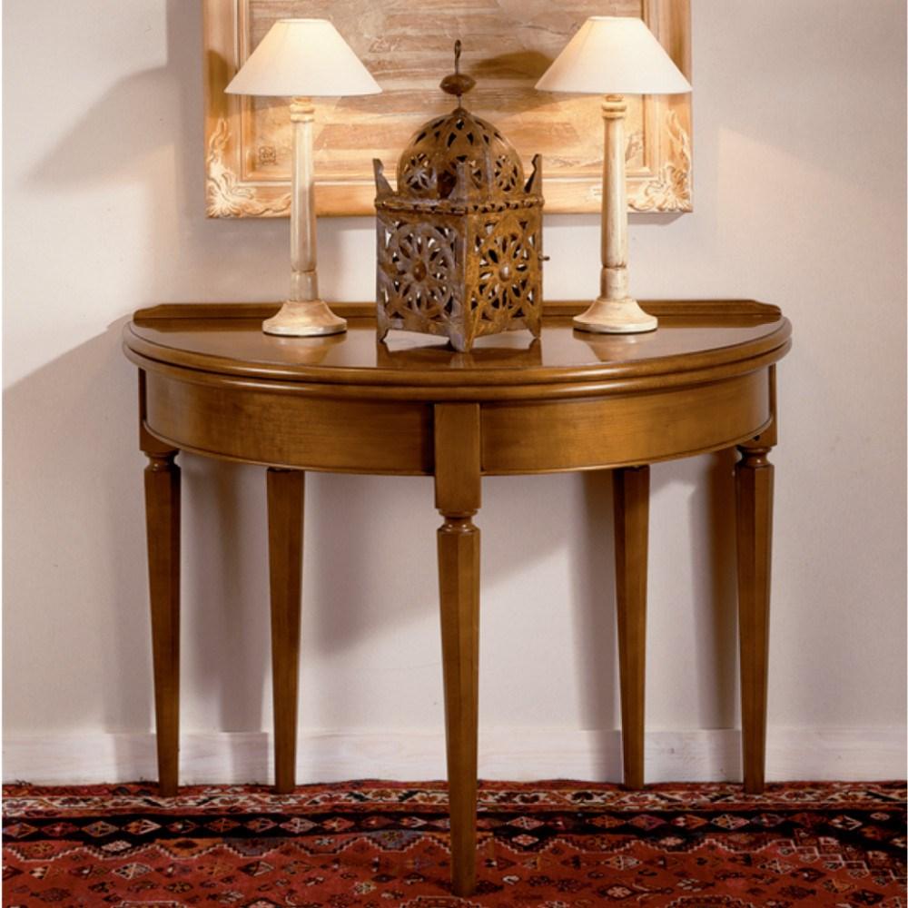 Mesa consola vintage extensible santa ana en betty co - Mesas salon extensibles ...