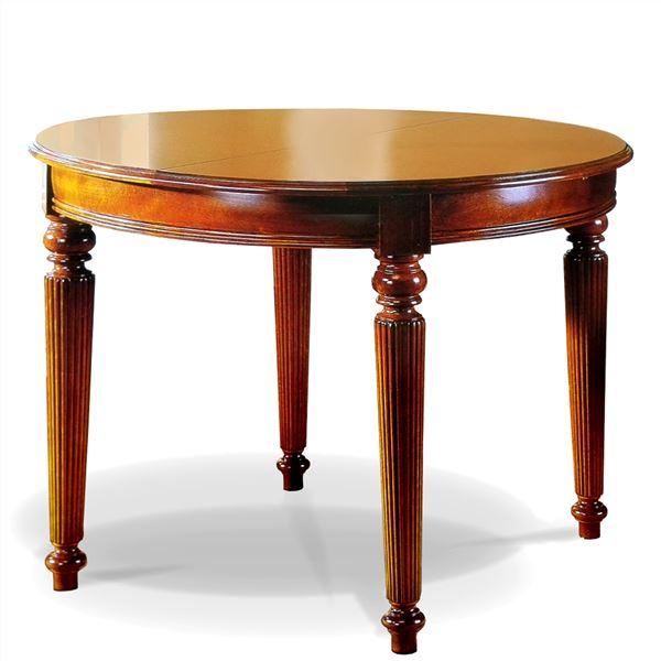 Mesa extensible redonda victoriana en betty co - Mesa circular extensible ...