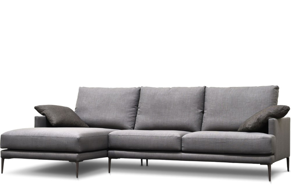 Sof de dise o con chaise longle alexandre en betty co - Sofas con diseno ...