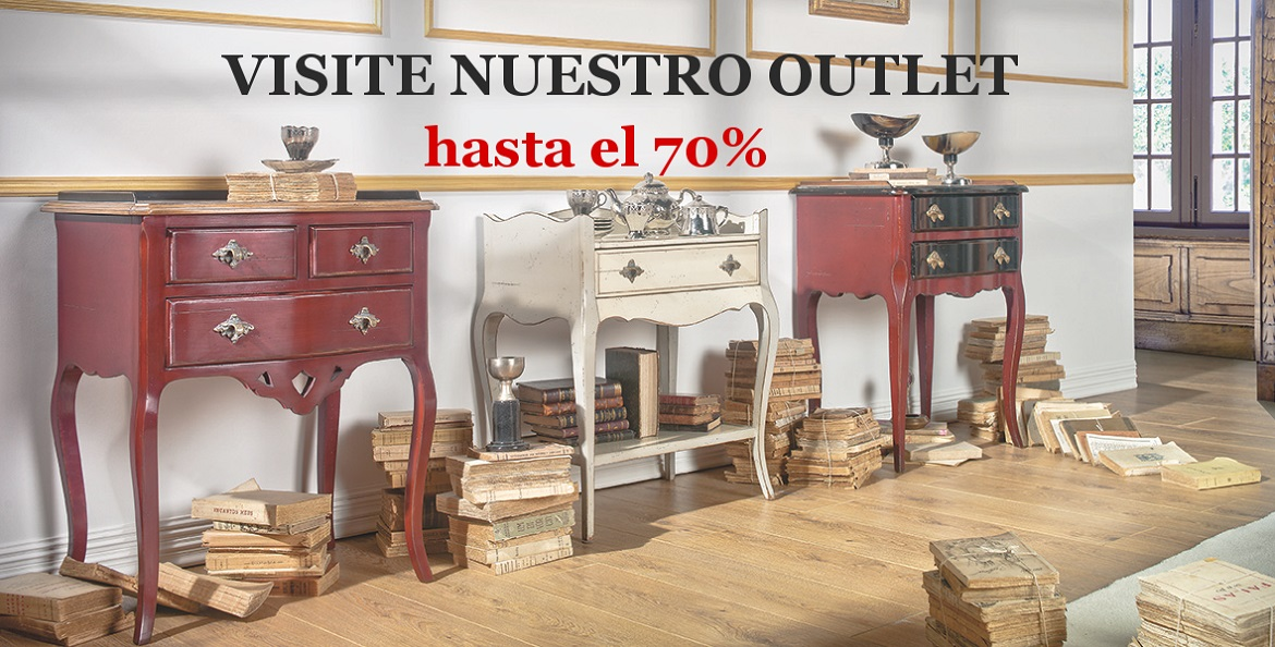 Tienda de muebles cl sicos en madrid betty co for Outlet muebles