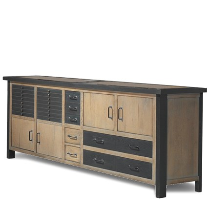 Aparador buffet bajo retro industrial Brooklyn en Betty&Co.