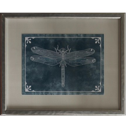 Cuadro vintage Dragon-fly 1 en Betty&Co.