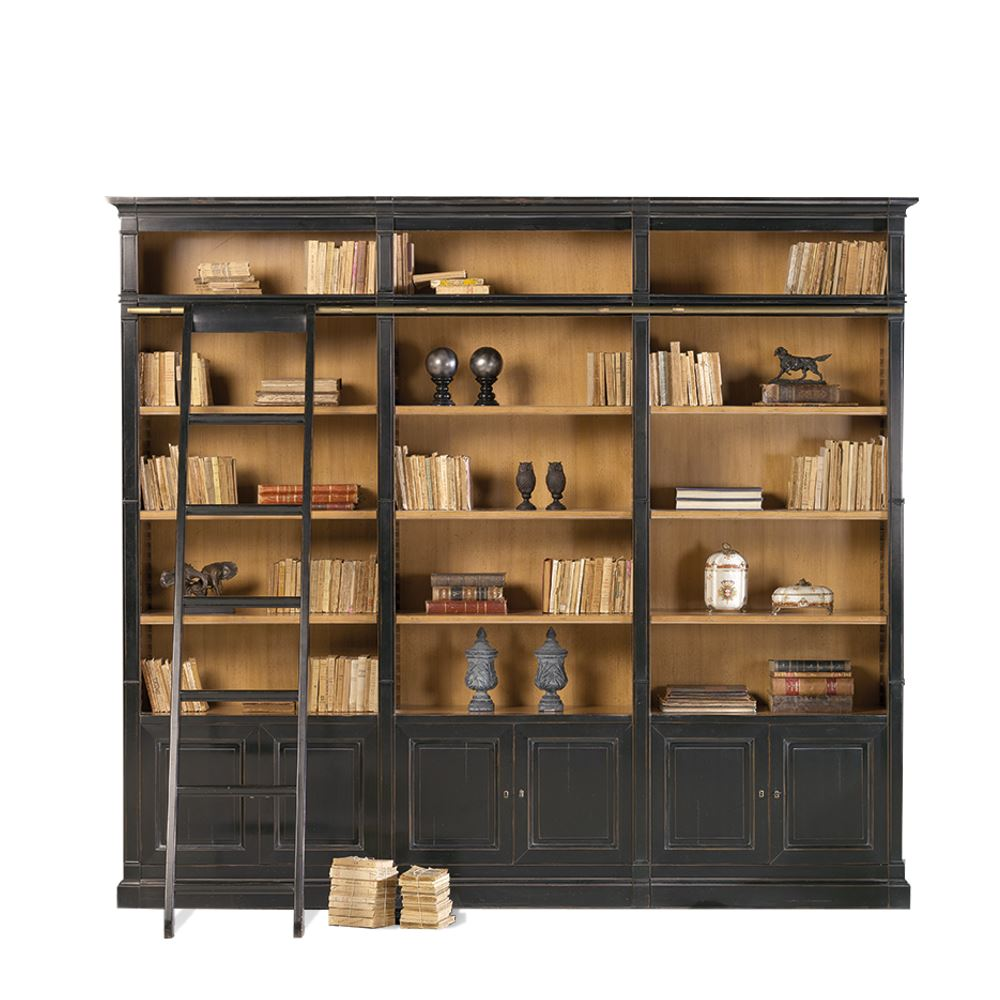 Librer a modular cl sica de sal n trieste 1 en betty co for Librerias clasicas para salon