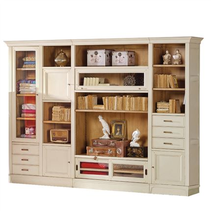 Librer as modulares de sal n en betty co - Librerias para salones ...