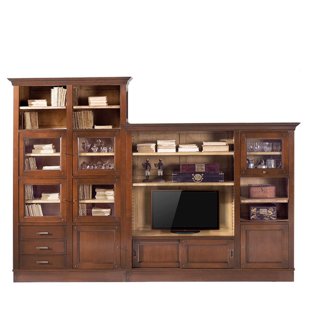 Librer As Modulares De Sal N En Betty Co  # Muebles Bibliotecas Modulares