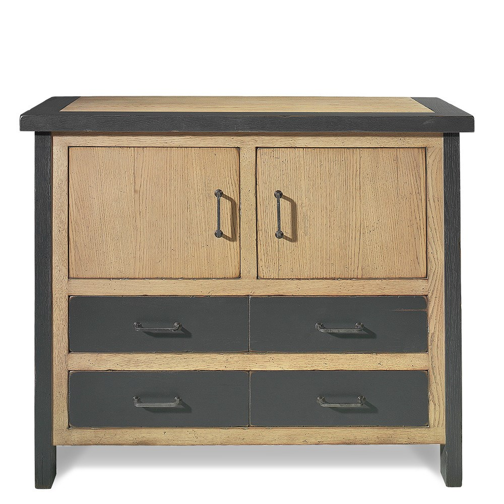 Mueble recibidor retro industrial brooklyn en betty co for Muebles vintage outlet