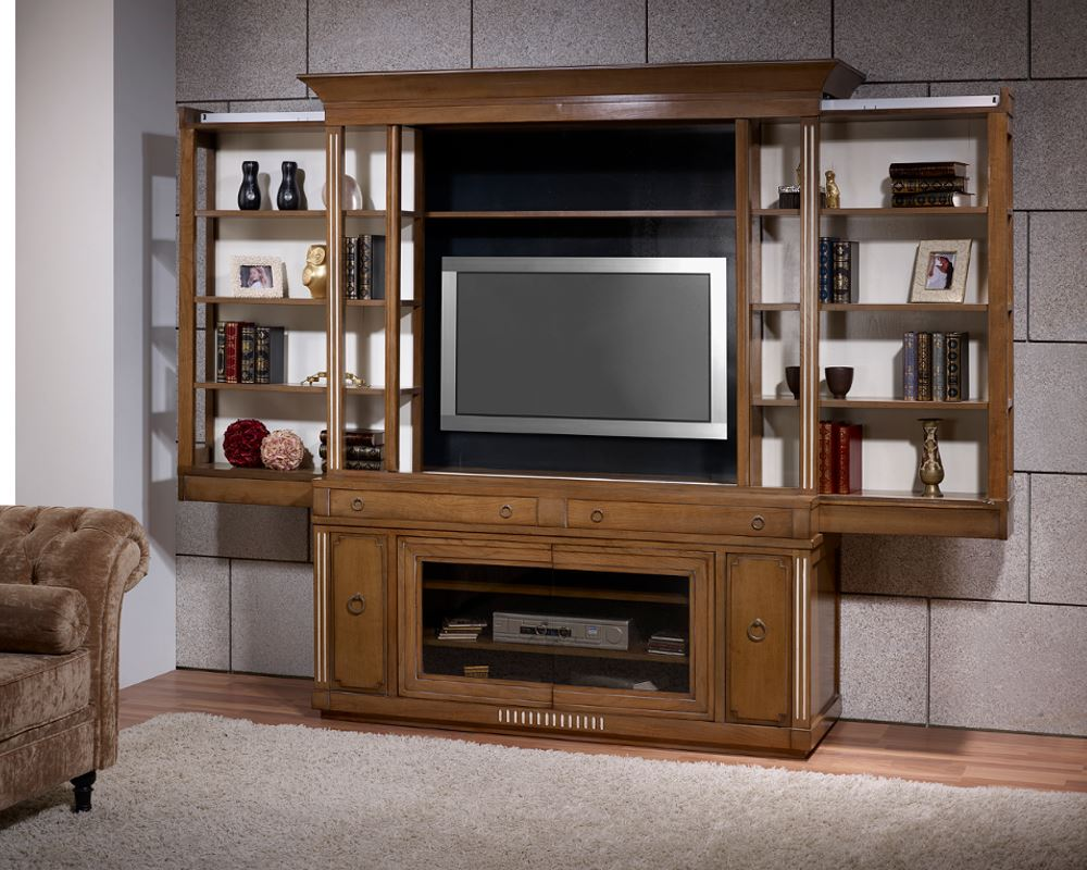 mueble tv oculta puertas correderas kingdom en betty co