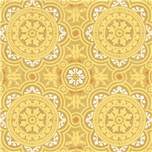 Papel para paredes vintage amarillo Piccadilly 94-8046 Cole&Son en Betty&Co.