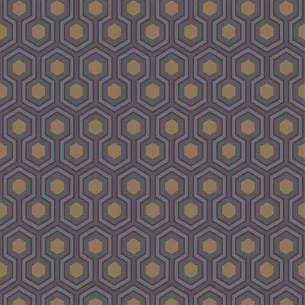 Papel pintado contemporáneo Cole&Son Hicks´ Hexagon 95-3015