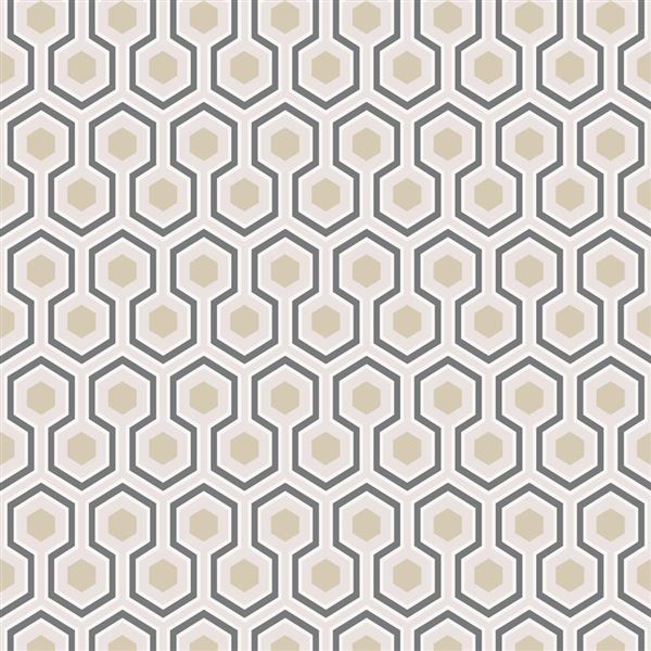 Papel pintado contemporáneo Cole&Son Hicks´ Hexagon 95-3016