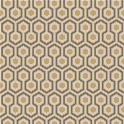 Papel pintado contemporáneo Cole&Son Hicks´ Hexagon 95-3017 en Betty&Co.