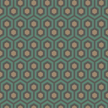 Papel pintado contemporáneo Cole&Son Hicks´ Hexagon 95-3018 en Betty&Co.