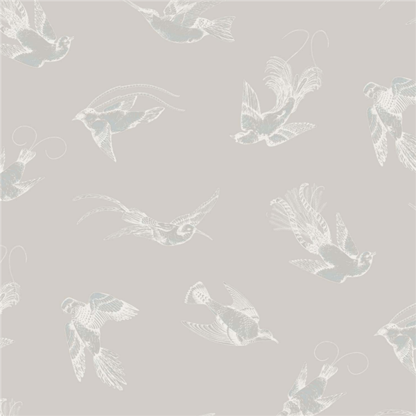 Papel pintado decoracion pájaros Tropical Birds 89-1002 Cole&Son