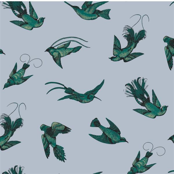 Papel pintado decoracion pájaros Tropical Birds 89-1003 Cole&Son