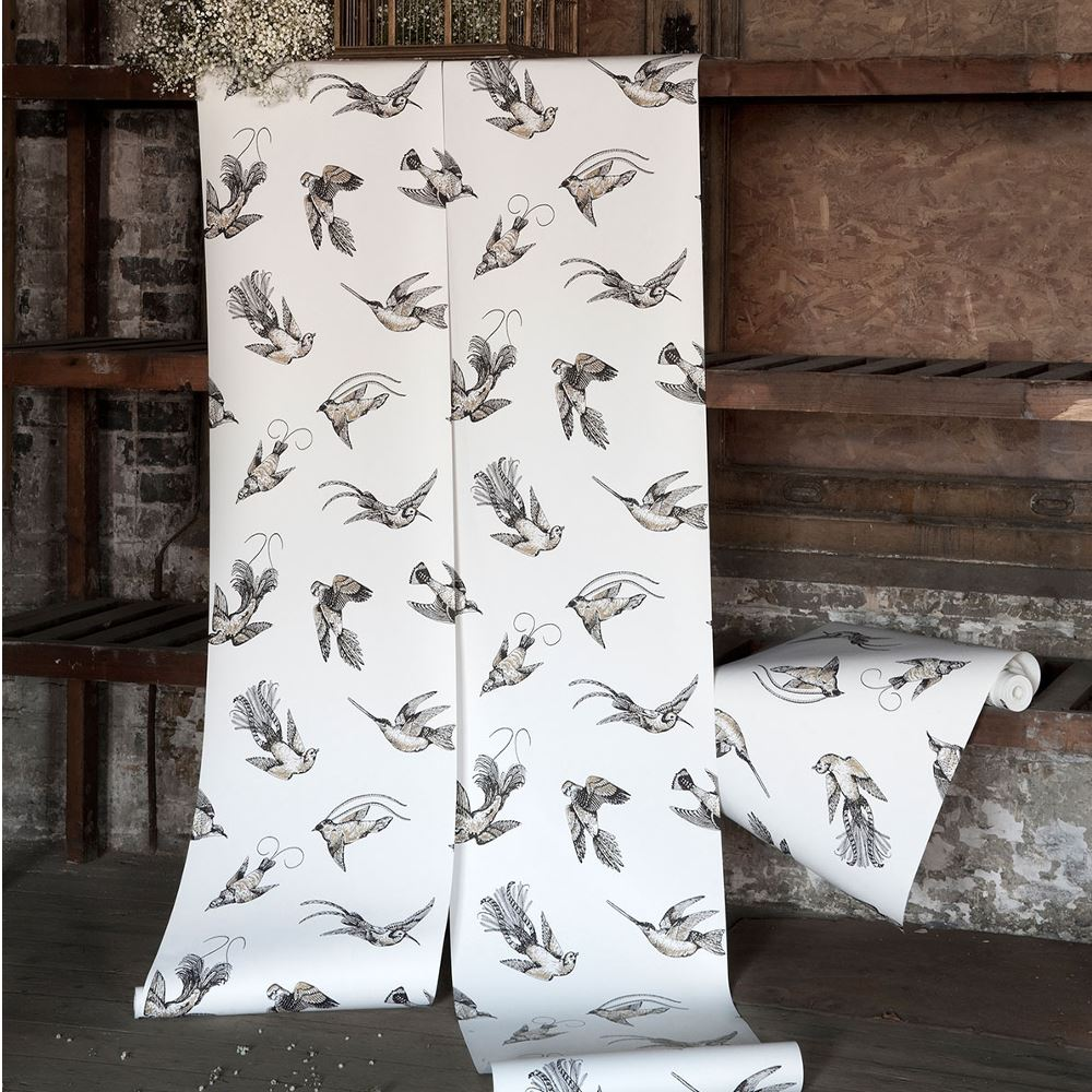Papel pintado decoracion pájaros Tropical Birds 89-1004 Cole&Son en ...