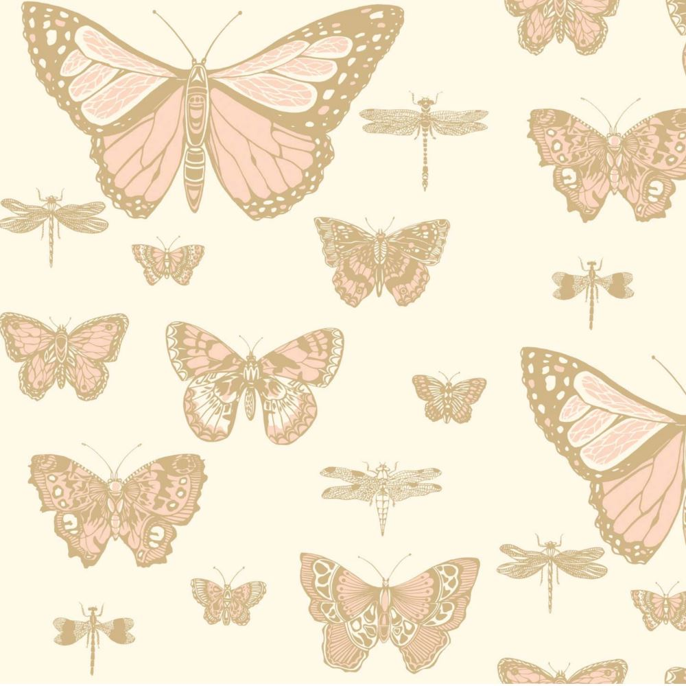 Papel pintado juvenil mariposas butterflies dragonflies 103 15066 cole son en betty co - Papel pintado mariposas ...
