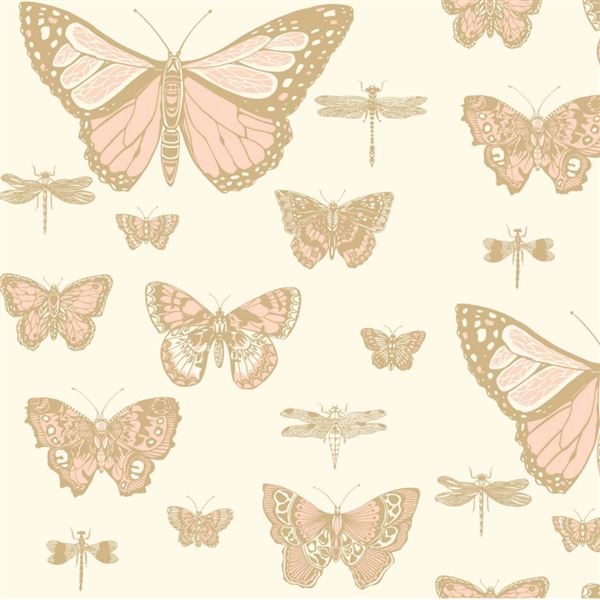 Papel pintado juvenil mariposas butterflies dragonflies for Papel pintado decorativo
