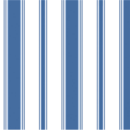 Papel pintado rayas azul Cambridge 96-1003 Stripe Cole&Son en Betty&Co.