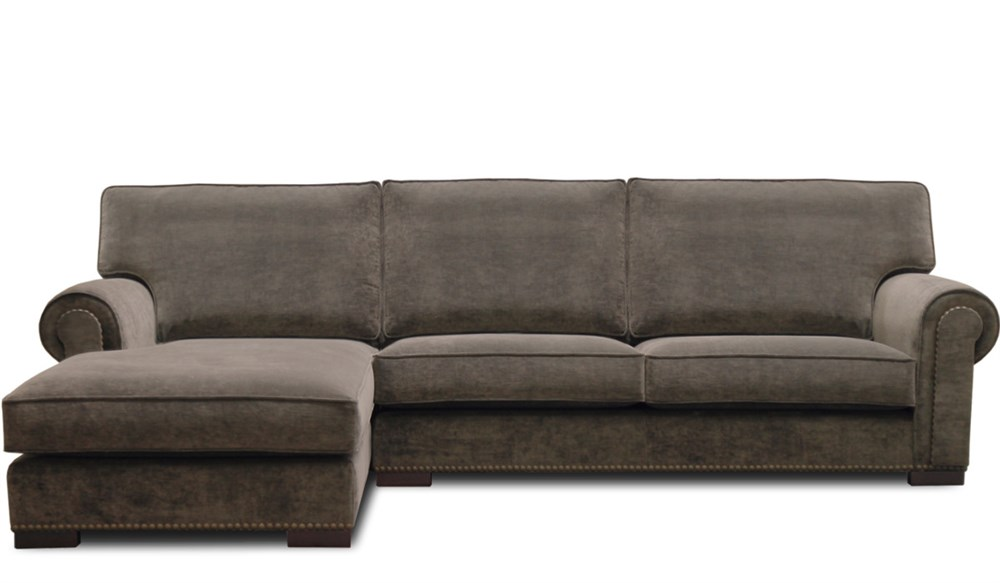 Sof cl sico con chaise longue melange en betty co for Sofas clasicos madrid